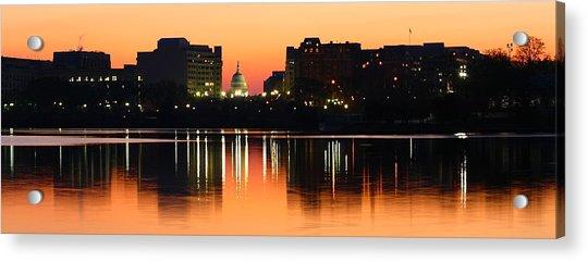 Sunrise Over The Capitol-2 Acrylic Print