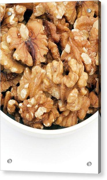 Walnuts Acrylic Print by Geoff Kidd/science Photo Library