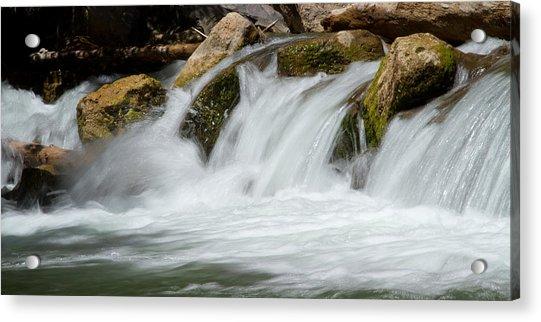 Waterfall - Zion National Park Acrylic Print