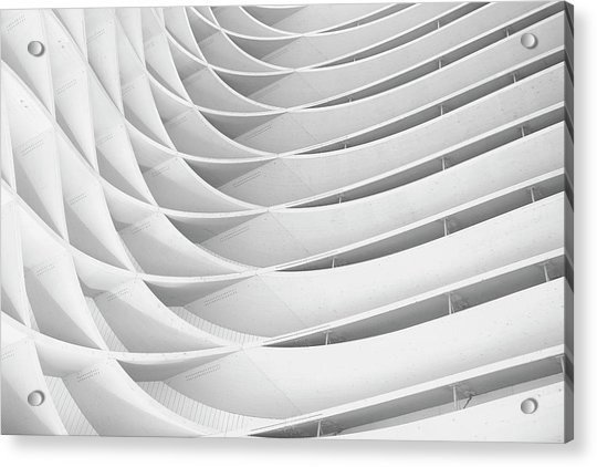 Study Of Patterns And Lines Acrylic Print by Roland Shainidze Photogaphy