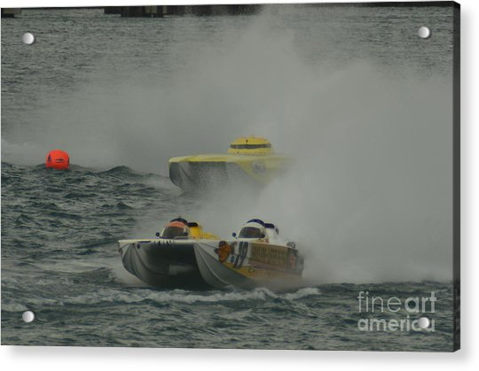 Port Huron Sarnia International Offshore Powerboat Race Acrylic Print