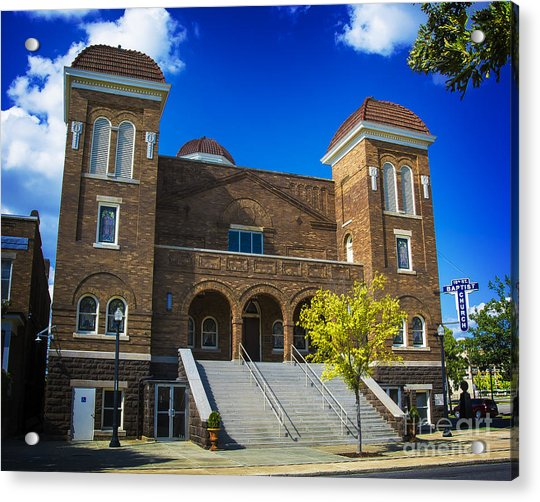 16th Street Baptist Church Acrylic Print