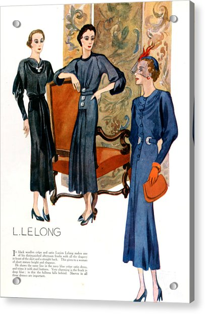 1920s Uk Womens Fashion Magazine Plate