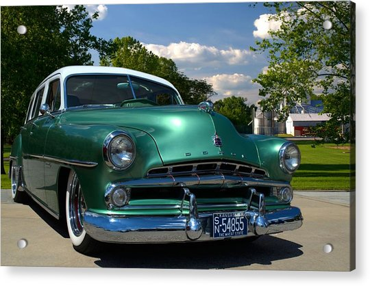 1952 Dodge Station Wagon Acrylic Print by Tim McCullough