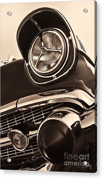 1957 Chevy Details Acrylic Print