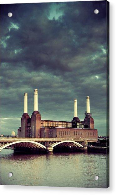 Battersea Power Station London Acrylic Print