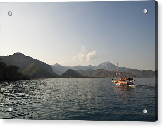 Boat Trip Acrylic Print