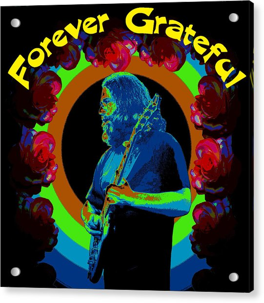 Forever Grateful Acrylic Print
