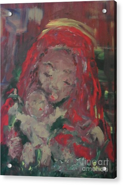 Acrylic Print featuring the painting Hope  by Laurie Lundquist