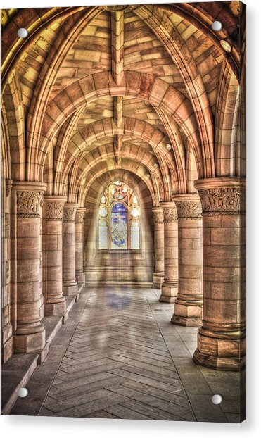 Kelso Abbey Acrylic Print