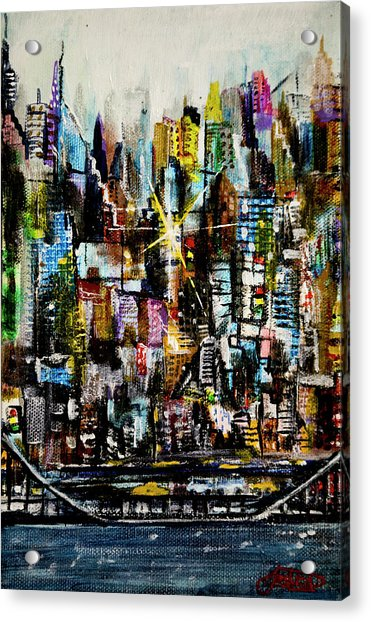 Manhattan Morning Acrylic Print