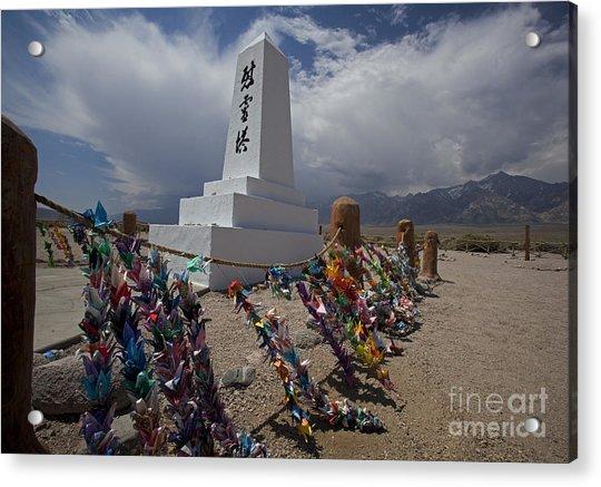 Manzanar War Relocation Center Acrylic Print