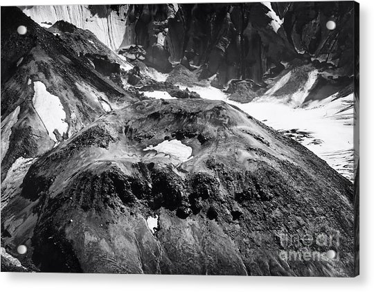 Mt St. Helen's Crater Acrylic Print
