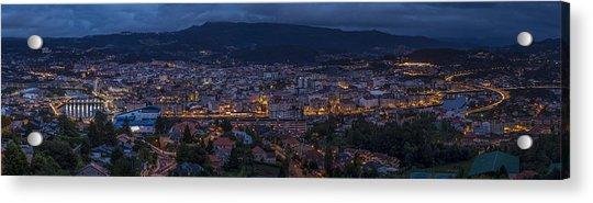 Pontevedra Panorama From A Caeira Acrylic Print