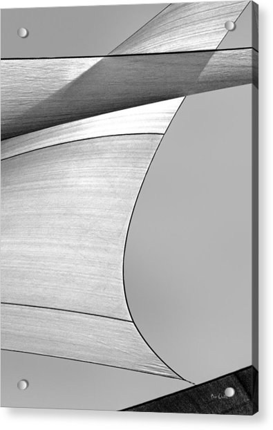 Sailcloth Abstract Number 4 Acrylic Print