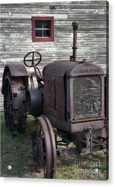 The Old Mule  Acrylic Print