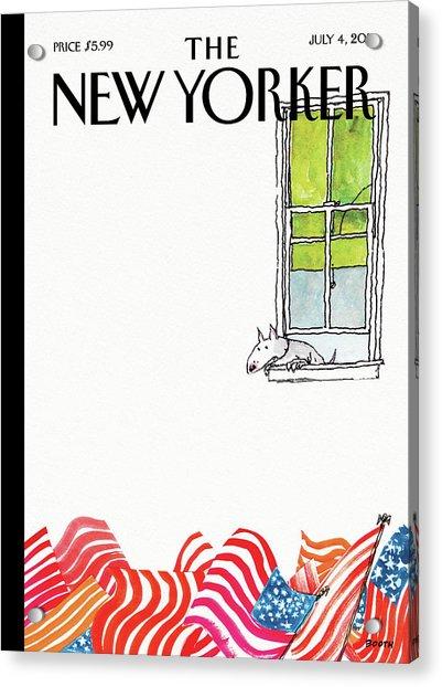 New Yorker July 4th, 2011 Acrylic Print