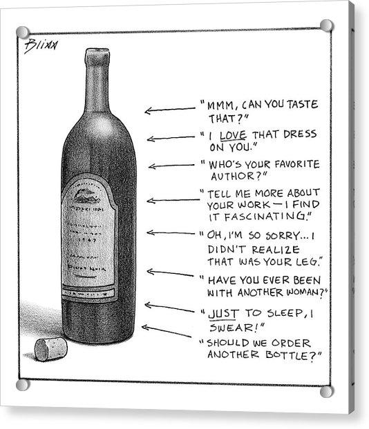 New Yorker February 19th, 2007 Acrylic Print