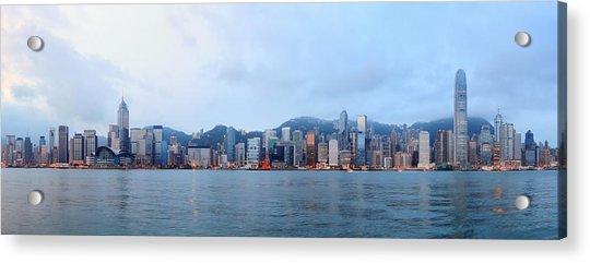 Hong Kong Morning Acrylic Print