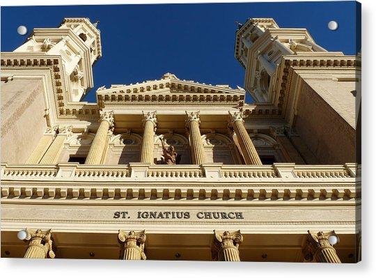 St. Ignatius Catholic Church Acrylic Print