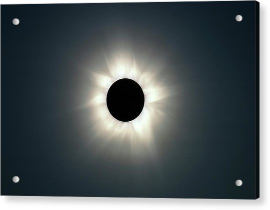 Total Solar Eclipse Acrylic Print