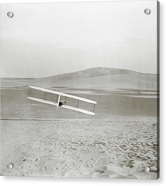 Wright Brothers Kitty Hawk Glider Acrylic Print