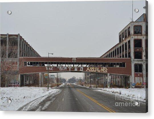 Detroit Packard Plant Acrylic Print