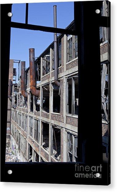 Packard Factory Acrylic Print