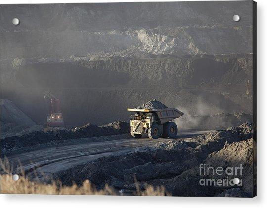 Wyoming Coal Mine Acrylic Print