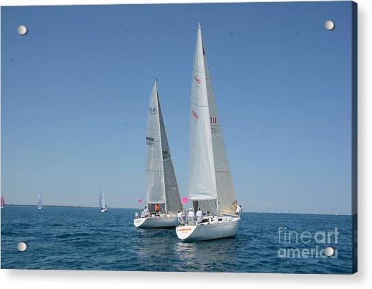 Sailboat Race Acrylic Print