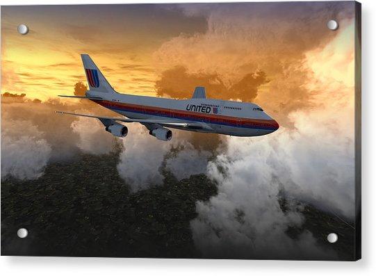747 28.8x18 03 Acrylic Print