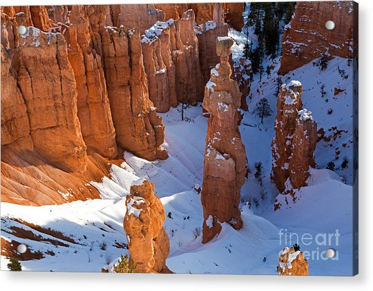 Sunset Point Bryce Canyon National Park Acrylic Print