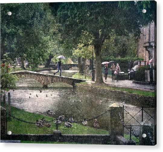 A Bit Of Rain Acrylic Print