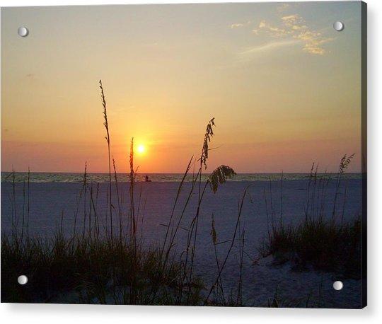 Acrylic Print featuring the photograph A Florida Sunset by Cynthia Guinn