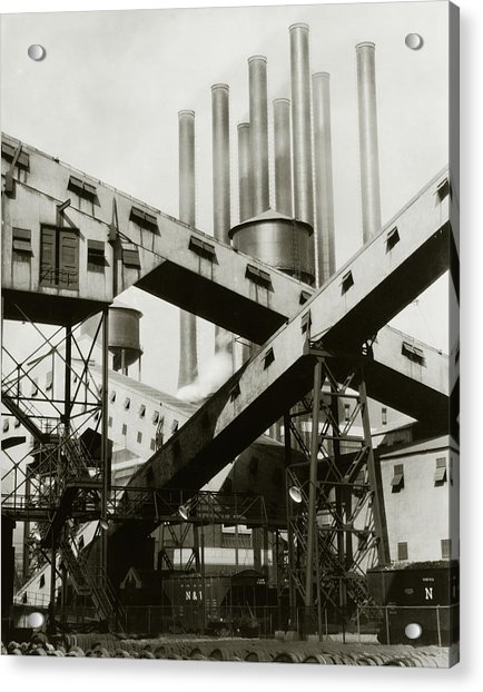 A Ford Automobile Factory Acrylic Print