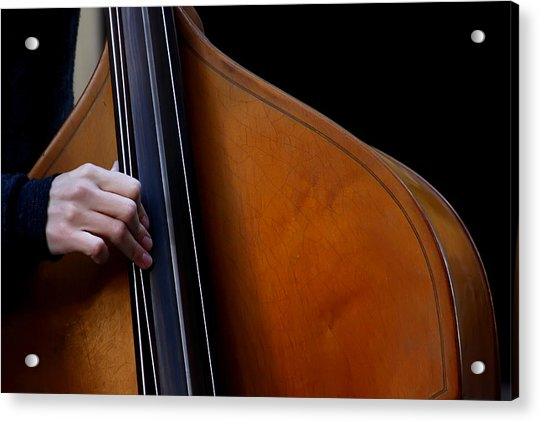 A Hand Of Jazz Acrylic Print