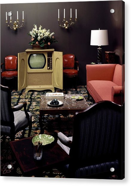 A Living Room Acrylic Print