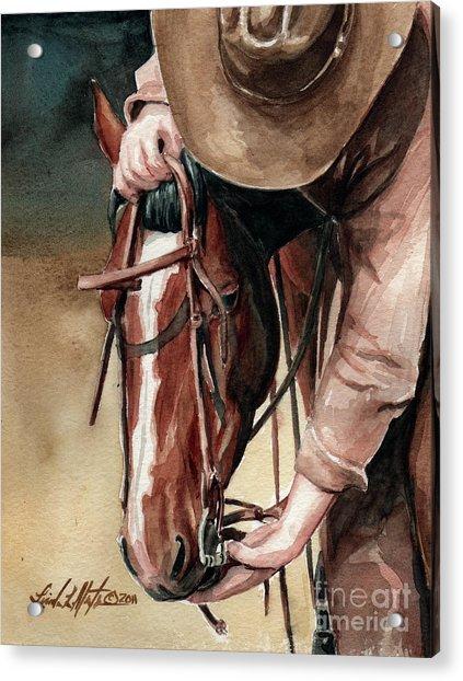 A Useful Horse Acrylic Print
