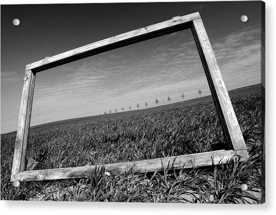 A View Through The Window Acrylic Print