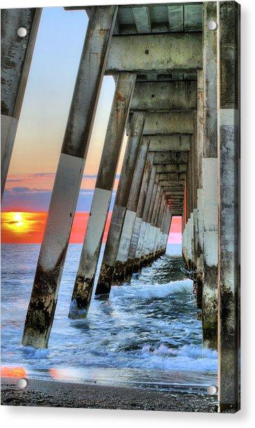 A Wrightsville Beach Morning Acrylic Print