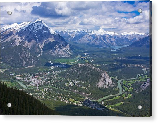 Above Banff Acrylic Print