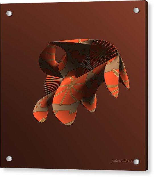 Abstract 351 Acrylic Print