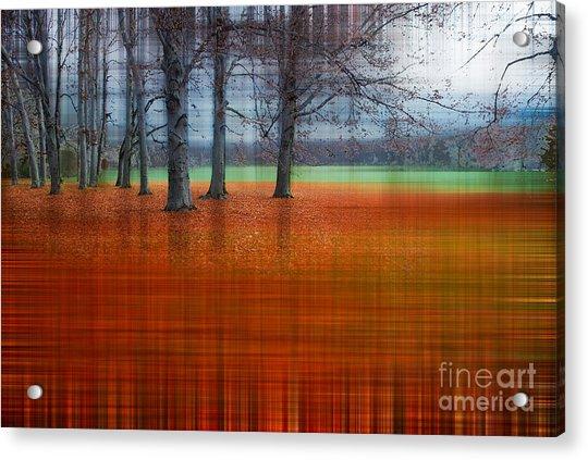abstract atumn II Acrylic Print