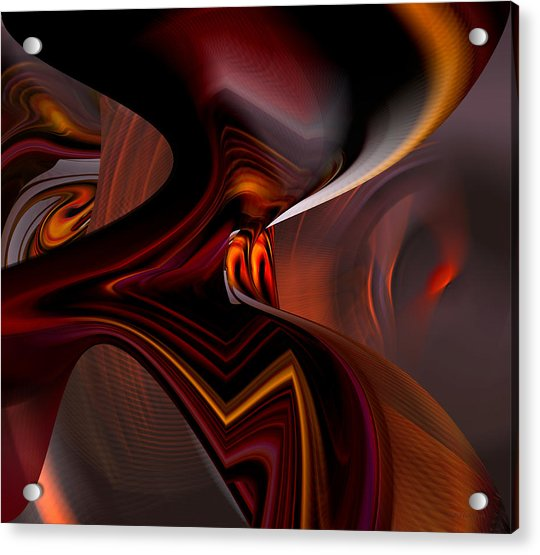 Abstract - Dark Passages Acrylic Print