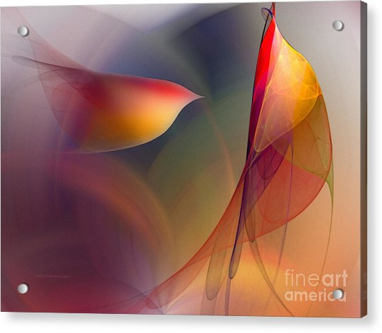 Abstract Fine Art Print Early In The Morning Acrylic Print