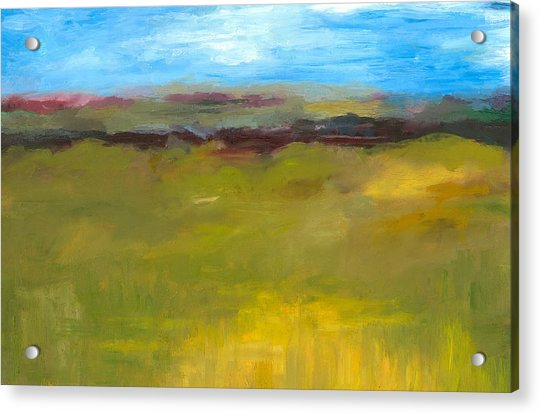 Abstract Landscape - The Highway Series Acrylic Print