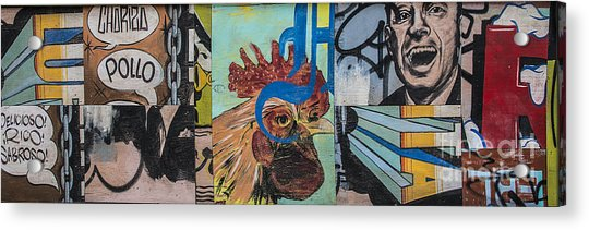 Abstract Rooster Panel Acrylic Print