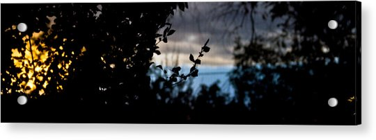 Abstract Window View Acrylic Print