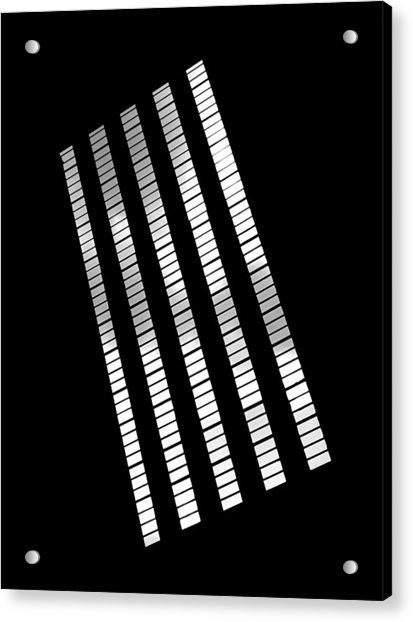 Acrylic Print featuring the photograph After Rodchenko 2 by Rona Black