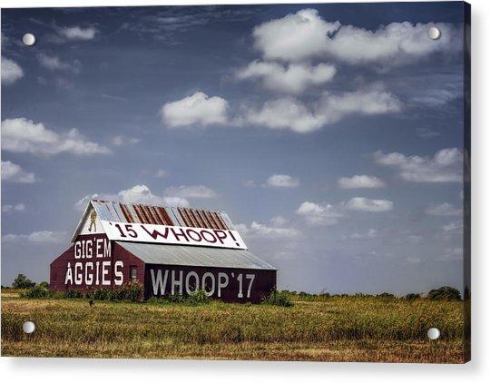 Aggie Barn Acrylic Print